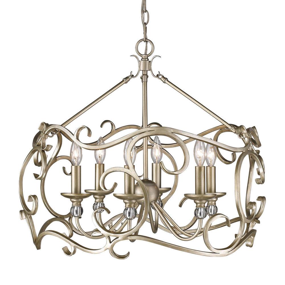 6 light chandelier 7dpx shanor royalite lighting centers