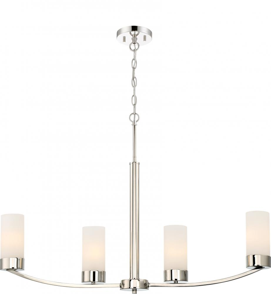 Denver 4 Island Pendant R0f7 Shanor Royalite Lighting